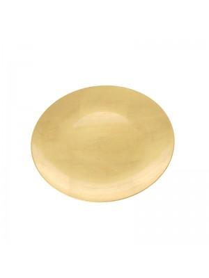 Коледно декоративно плато d40cm gold