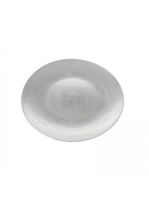 Коледно декоративно плато d40cm silver