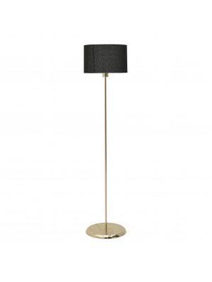 Метален лампион с черна шапка