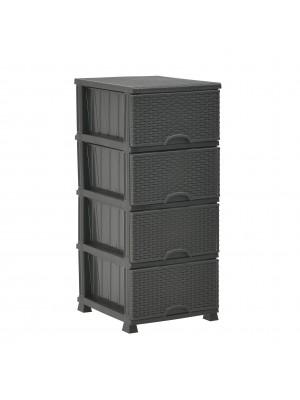 Пластмасов шкаф с чекмеджета