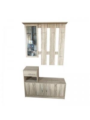 Ламинирано портманто закачалка с долен шкаф
