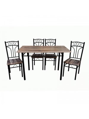 Set Of Dining Table And 4 Chairs