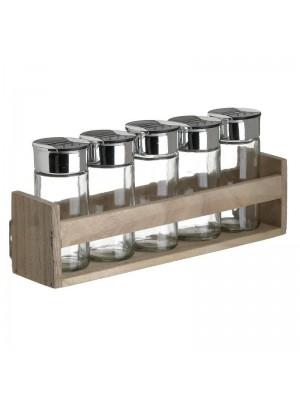 Кухненски сет за подправки със стойка