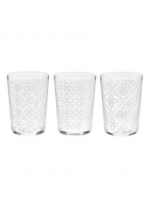 Стъклени чаши за вода сет 6бр