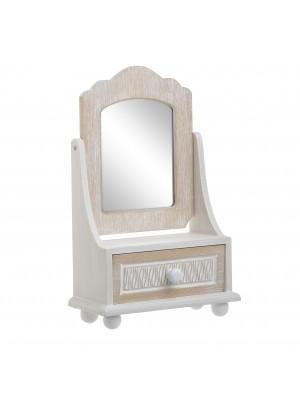 Стойка за бижута с огледало