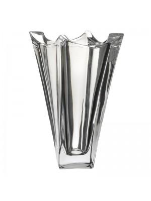 Стъклена ваза от прозрачно стъкло