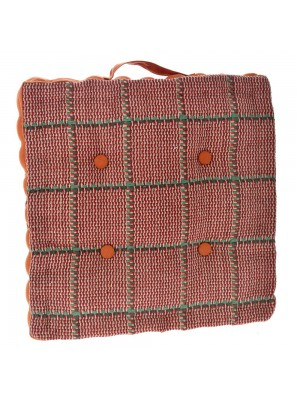 FABRIC DECO PILLOW 40X40 RED