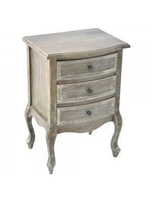 WOODEN CHEST OF 3 DRAWERS 45X35X67CM