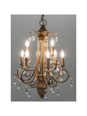 METAL CEILLING LAMP D57D70 W GLASS BEAD