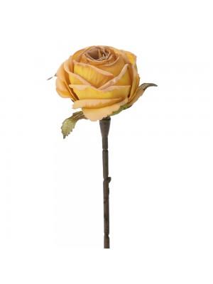 Оранжева роза 28см