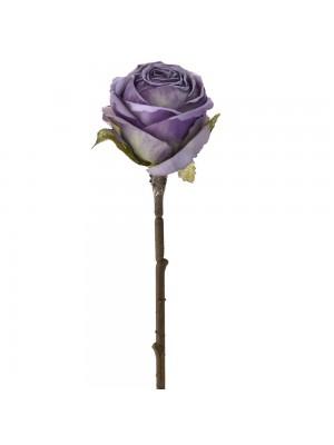 Лилава роза 28см