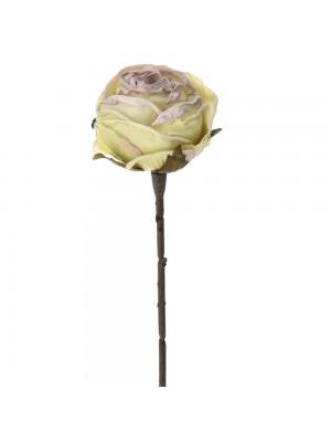 Светлозелена роза 28см