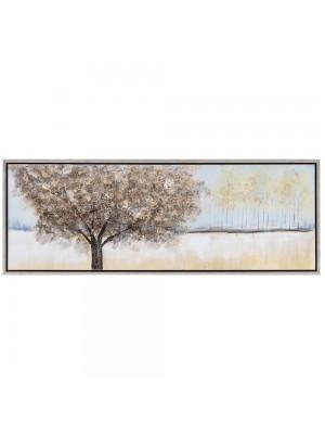 Маслена картина  дърво 155X55 CM