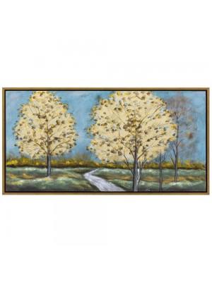 Маслена картина листа 145X75 CM