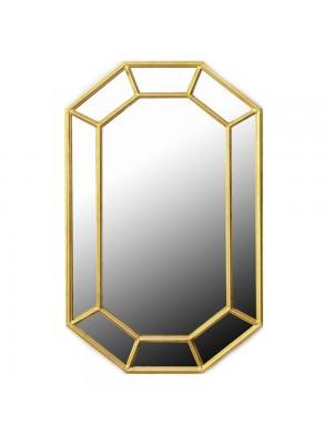 Стенно огледало с метална рамка 56X90