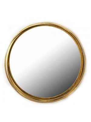 Стенно огледало с метална рамка D 75 CM