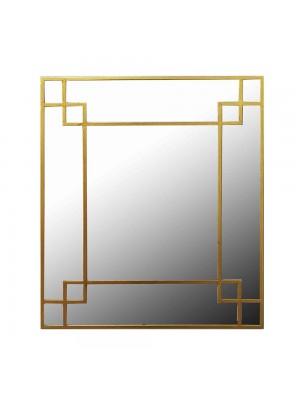 Стенно огледало с метална рамка 80X95 CM