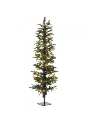 XMAS TREE PRE-LIT PENCIL PINE Φ35Χ90CM WITH 70 WHITE LED LIGHTS 266TIPS
