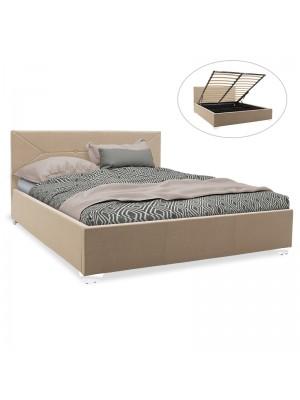Спалня с ракла Smooth дамаска бежов текстил 160x200cm
