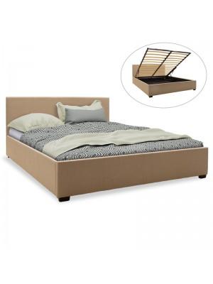 Спалня с ракла Norse дамаска бежов текстил 160x200cm