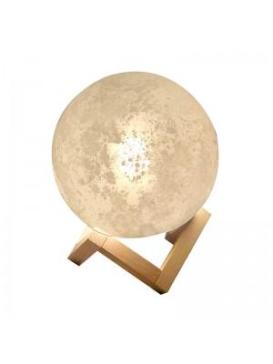 Стъклена настолна лампа