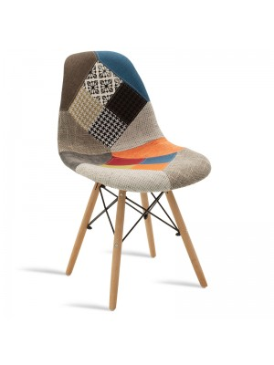 Стол текстилен Julita многоцветен пачуърк