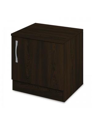 Нощно шкафче с чекмедже Deco в цвят венге 40x35,5x41cm