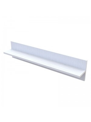 Стенен рафт Landy бял 90x13,5x20cm