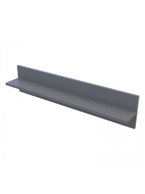 Стенен рафт Landy тъмно сив 90x13,5x20cm