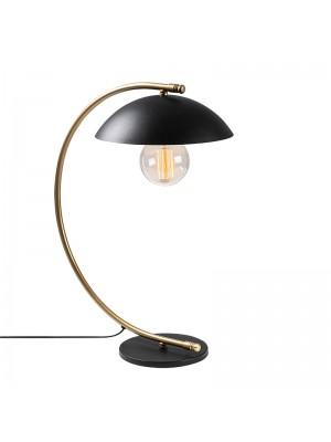 Настолна лампа цвят черен/златен 26x43x55cm