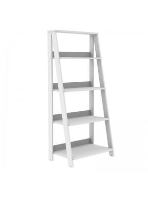 Етажерка в бял цвят 60x45x180cm