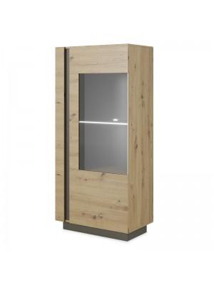 Шкаф Arco в сонома-тъмносив цвят 72x40x154cm