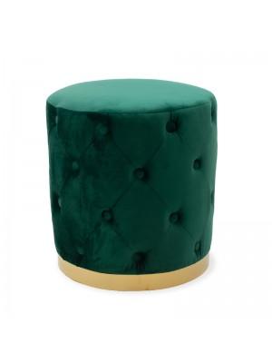 Табуретка Cora тъмно зелена
