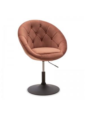 Повдигащо се кресло Ivy цвят пепел от рози 68x56x82-94cm