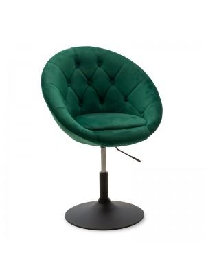 Повдигащо се кресло Ivy pakoworld тъмно зелено 68x56x82-94cm