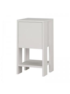 Нощно шкафче Ema бял цвят 30x30x55cm