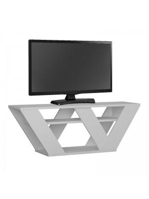 ТВ шкаф Pipralla цвят бял 110x40x30cm