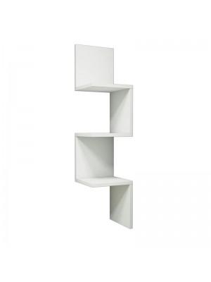 Ъглова етажерка Insta бял цвят29x16x105,5cm