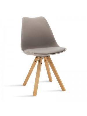 Стол Caron в сив цвят