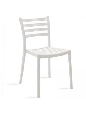Градински стол Winn в бял цвят