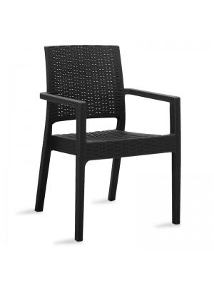 Черен стол Cabot