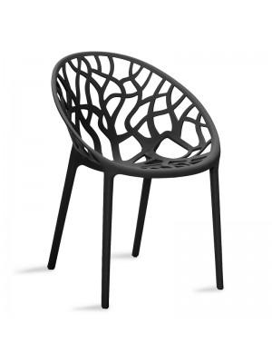 Черен стол Alyss