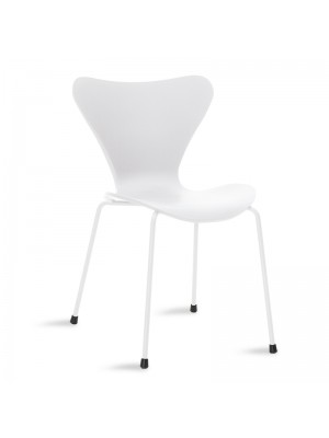Стол Abee в бял цвятщ