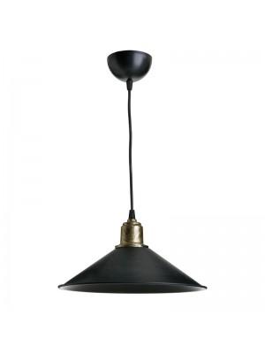 Полилей в черно и бронзово D30x62cm