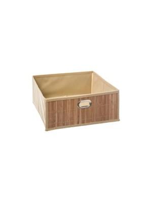 Бамбукова кутия за съхранение