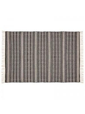 Килим Faber в черно и бяло 120x170cm