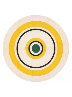 Шарен памучен килим Arty  D115x0,5cm