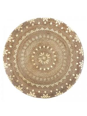 Кръгъл килим Shine D115x1cm