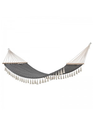 Хамак Syssia цвят бял/черен 200x100cm