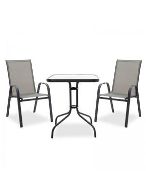Градински сет Watson-Calan - маса с 2 стола